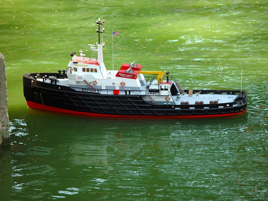 St. Louis Admirals R/C Model Boat Club - Fleet - Tugs and Workboats